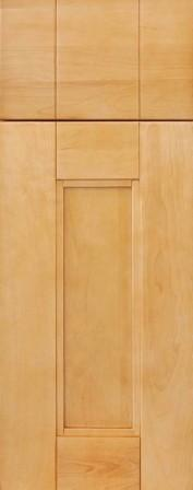 Natural Maple Shaker Style RTA Kitchen Cabinets
