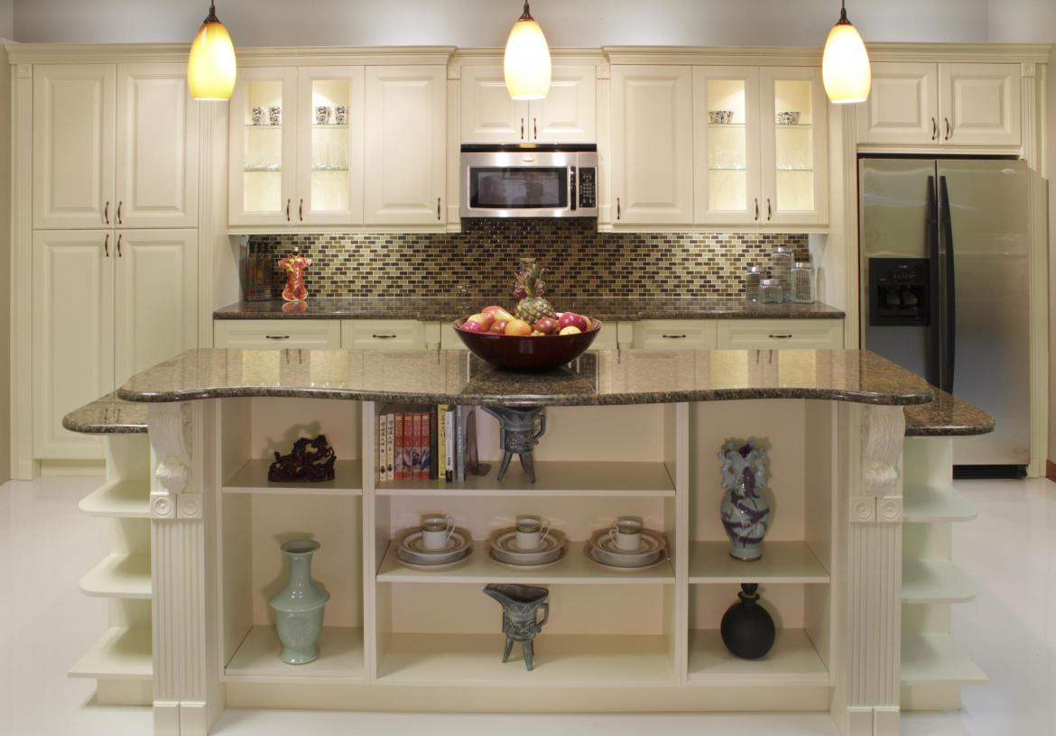 Coastal Cream RTA Kitchen Cabinets Sale
