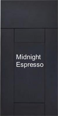 Midnight Espresso Cabinets