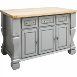 Kitchen Island Tuscan Gray ISL01-GRY