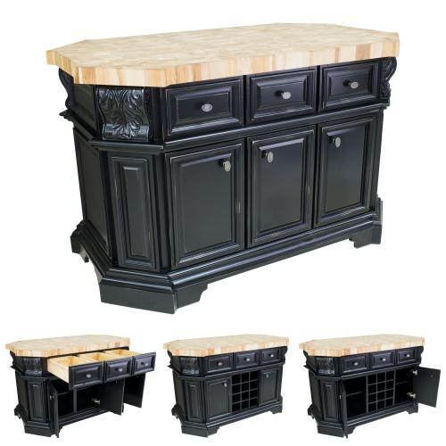 Kitchen Islands and Hard Maple Butcher Block Tops