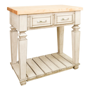 Lyn Design Isl Fwh Isl Top Kitchen Island With Top French White