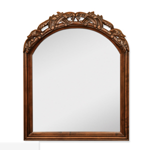Antique white bathroom mirror bath mirror discount for Cheap antique style mirrors