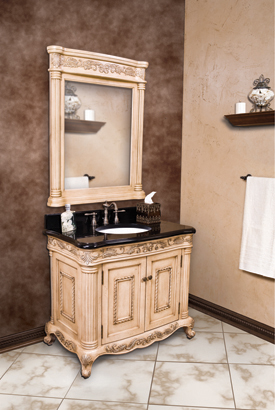 antique white bathroom cabinets. lyn design antique white ornate bath vanity set van011t bathroom cabinets n