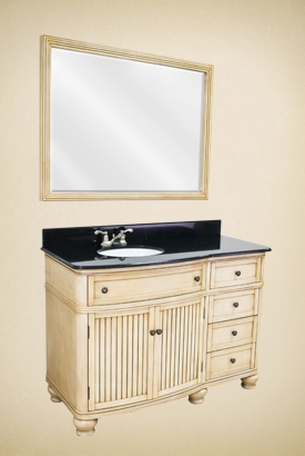 Cottage Bathroom Vanity  VAN028-48T