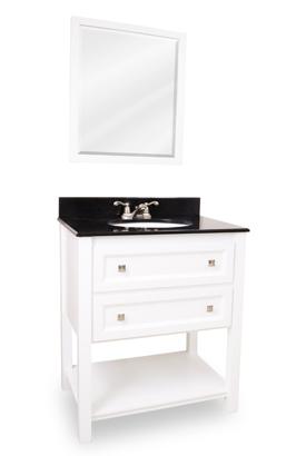 White Vanity Set VAN066T