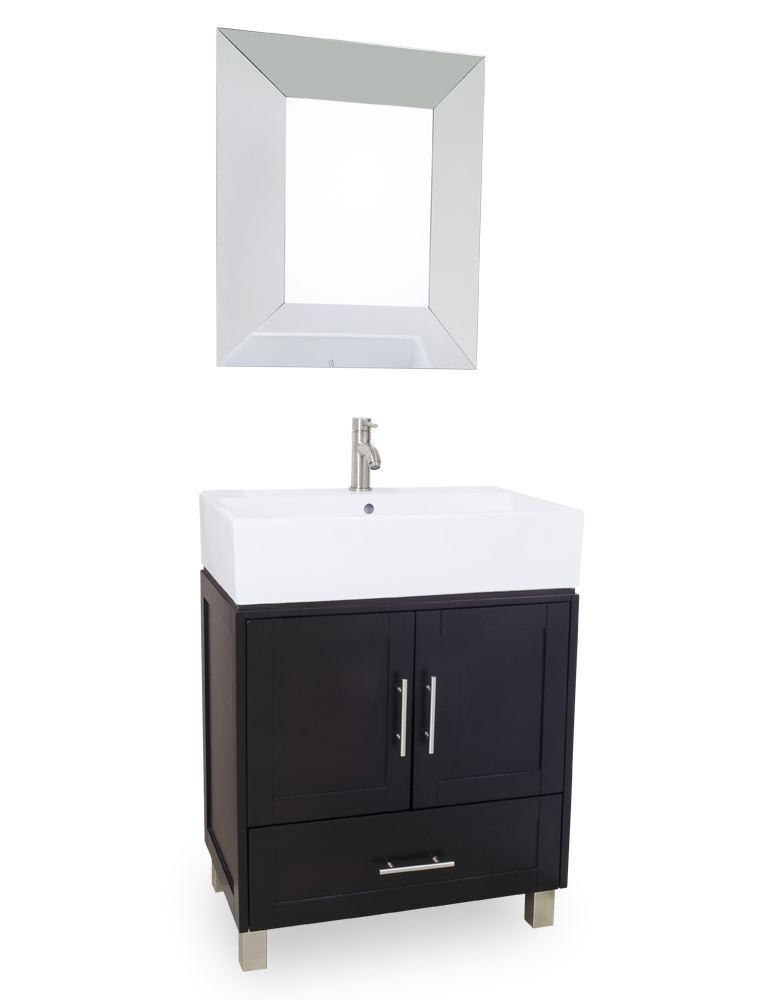 Lyn Design York Vessel Bathroom Vanity Set VAN054T