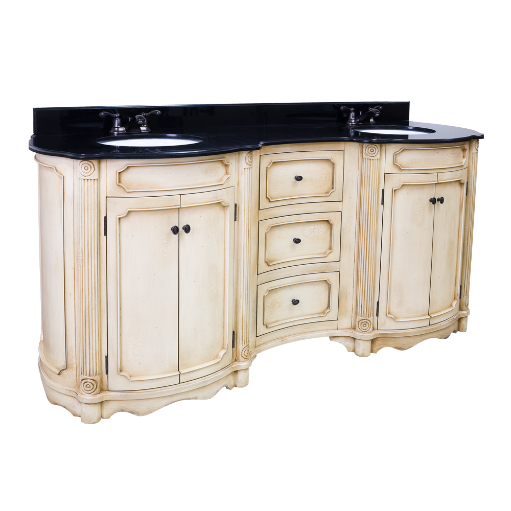 Antique White Bathroom Vanities With Fantastic Creativity