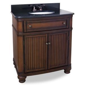 Compton Walnut Vanity Set VAN029T